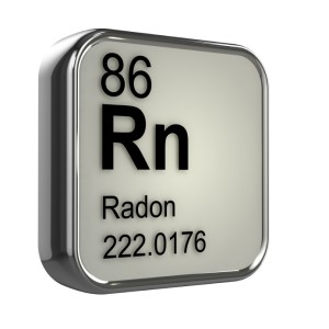 3d render of radon element design